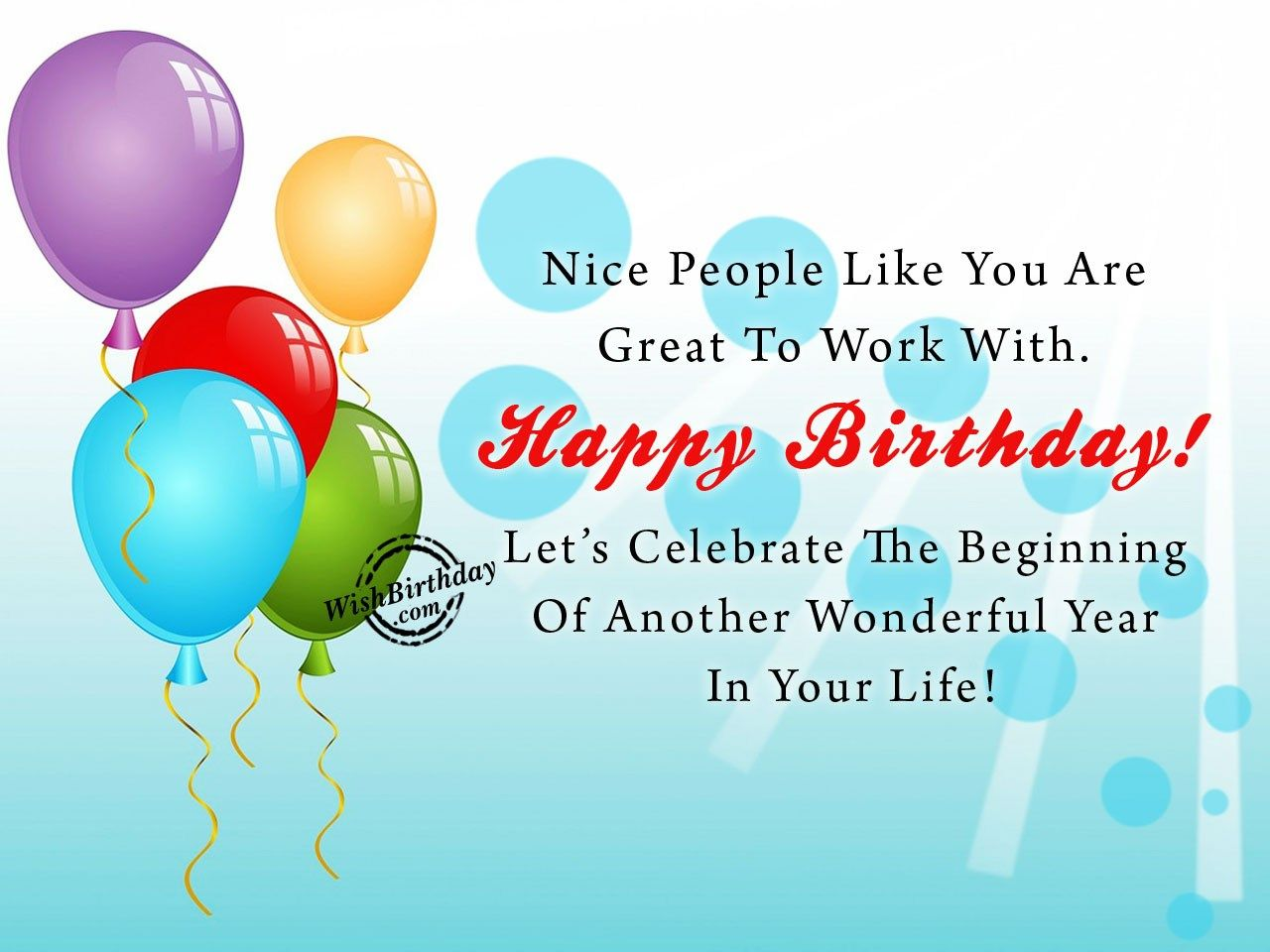 Happy Birthday Wishes For Colleague Happy Birthday