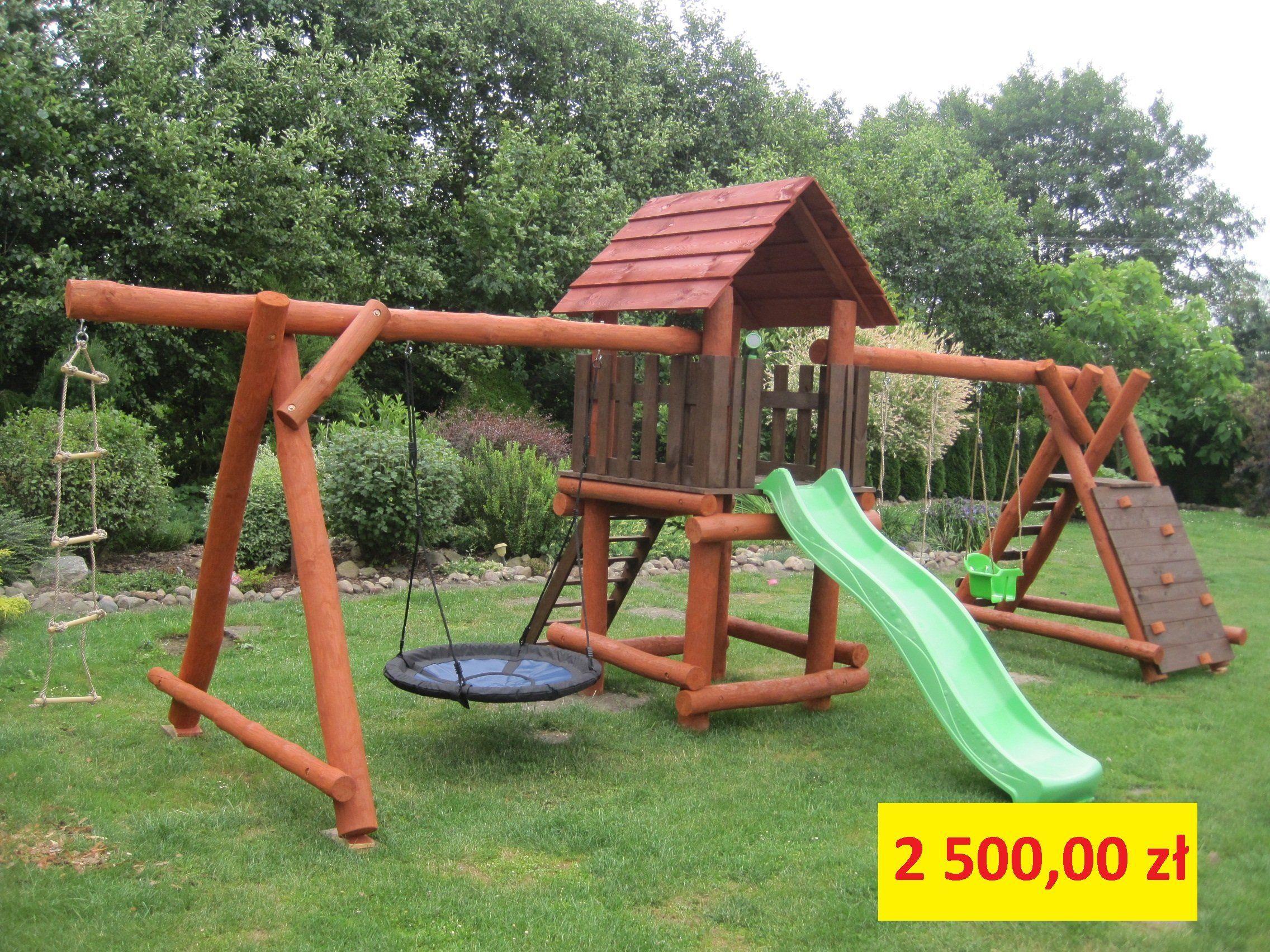 Drewniany Plac Zabaw Dla Dzieci Woj Lodzkie 6673888616 Oficjalne Archiwum Allegro Playset Outdoor Outdoor Decor Playground