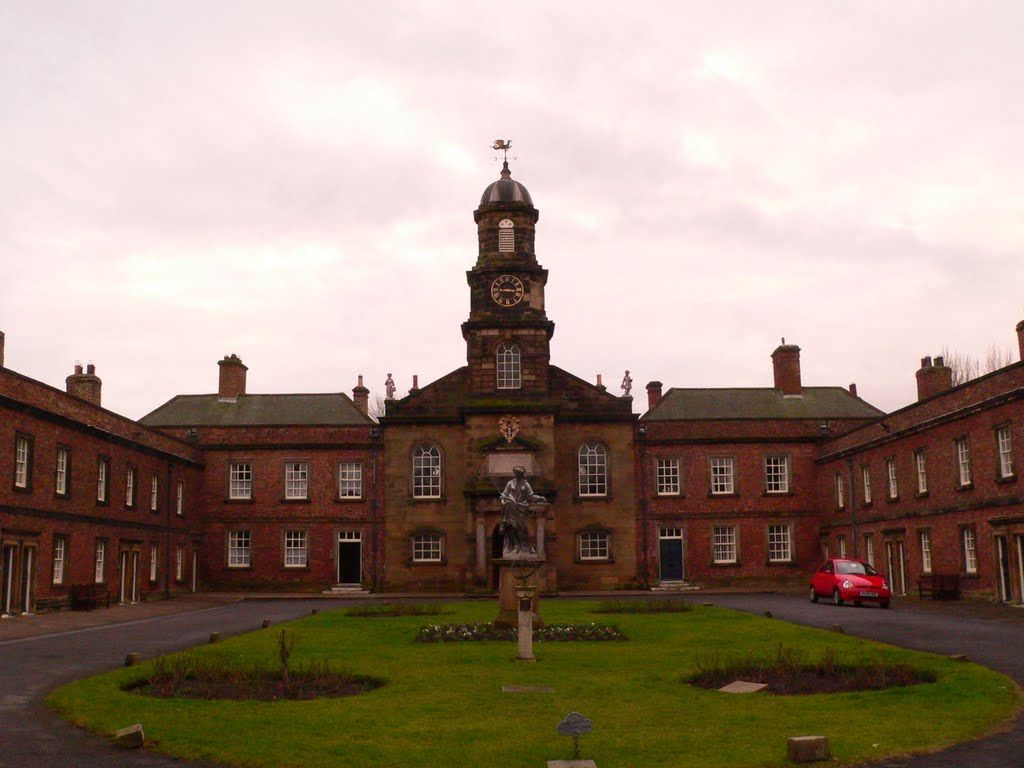 Sir William Turner's Almshouses, Kirkleatham.