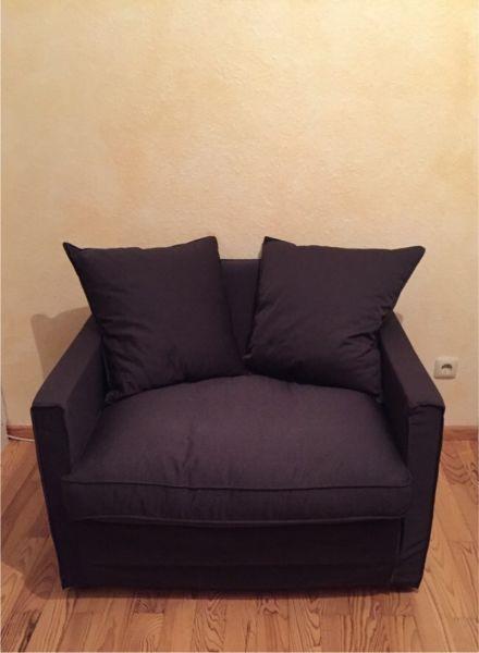 Neuwertiger Schlafsessel In Farbe Schwarz Zu Verkaufen An