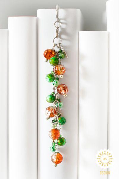 Metall - Lesezeichen ● Sonnenfrüchte ♥ - ein Designerstück von SchmettAlinchen bei DaWanda
