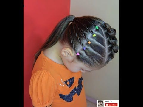 peinado fcil para nia easy hairstyle for girl youtube
