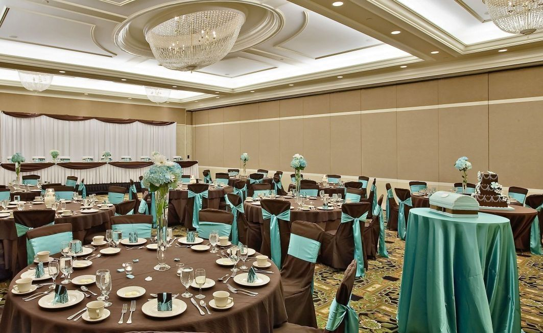 Brown And Teal Wedding Ideas: Wedding Decor, Chocolate Brown & Teal/aqua Accents
