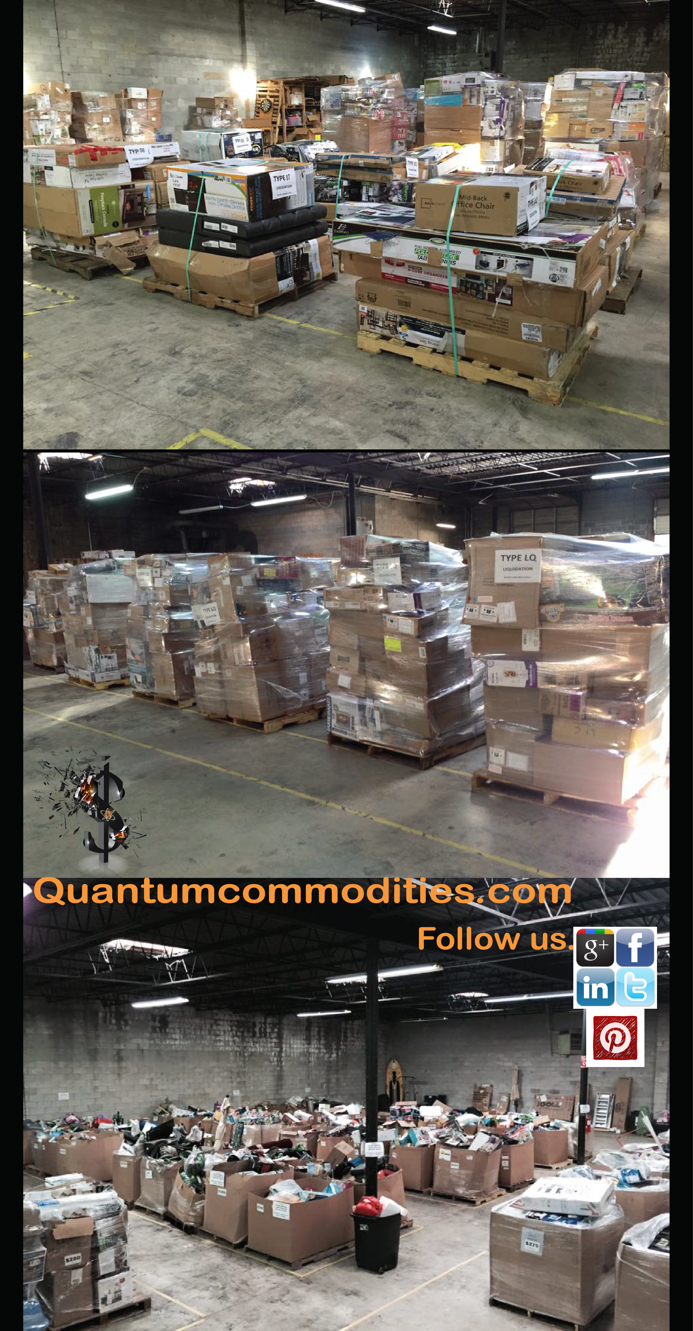 We are a Wholesale Supplier of Liquidation Merchandise that