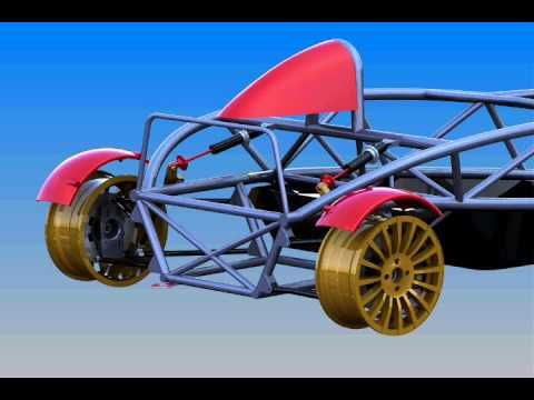 Delicieux Ariel Atom Rear Suspension  Solidworks Simulation