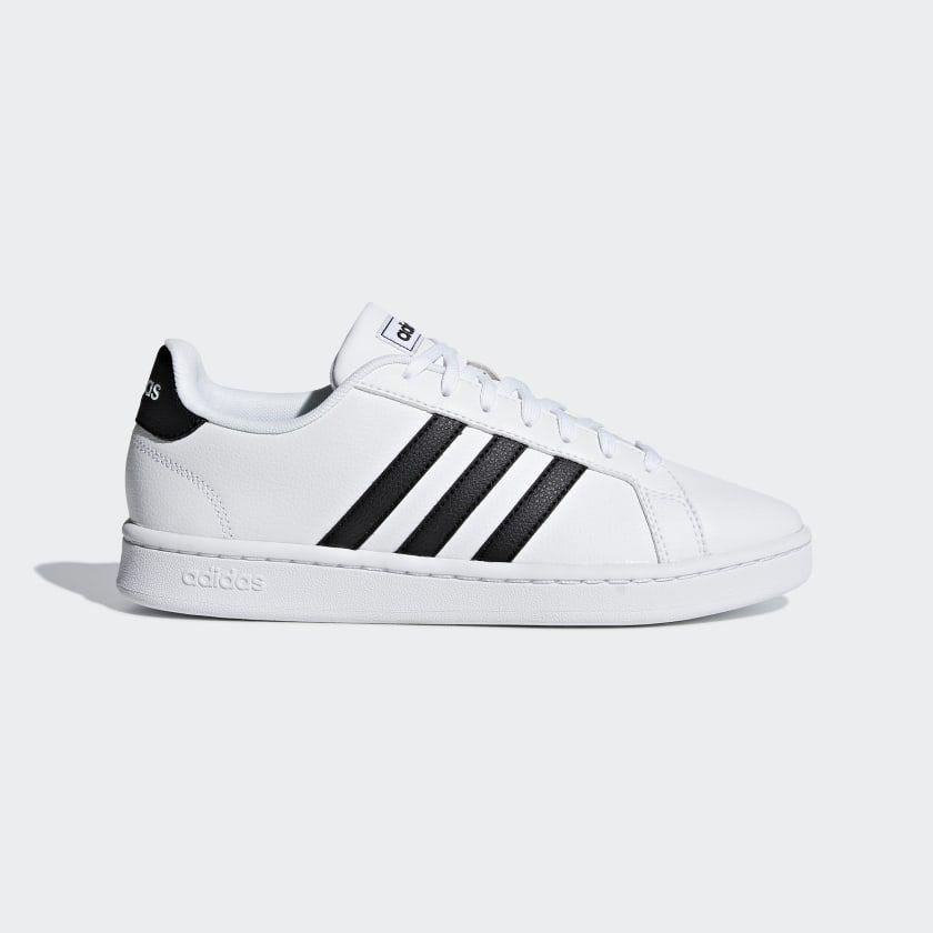 adidas Grand Court Shoes - White | adidas US #adidasclothes