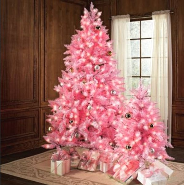 15 Cute And Beautiful Pink Christmas Tree Decorating Ideas Pink