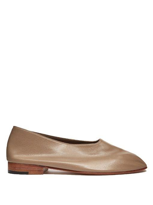 Glove Leather Flats Martiniano DkDKDf