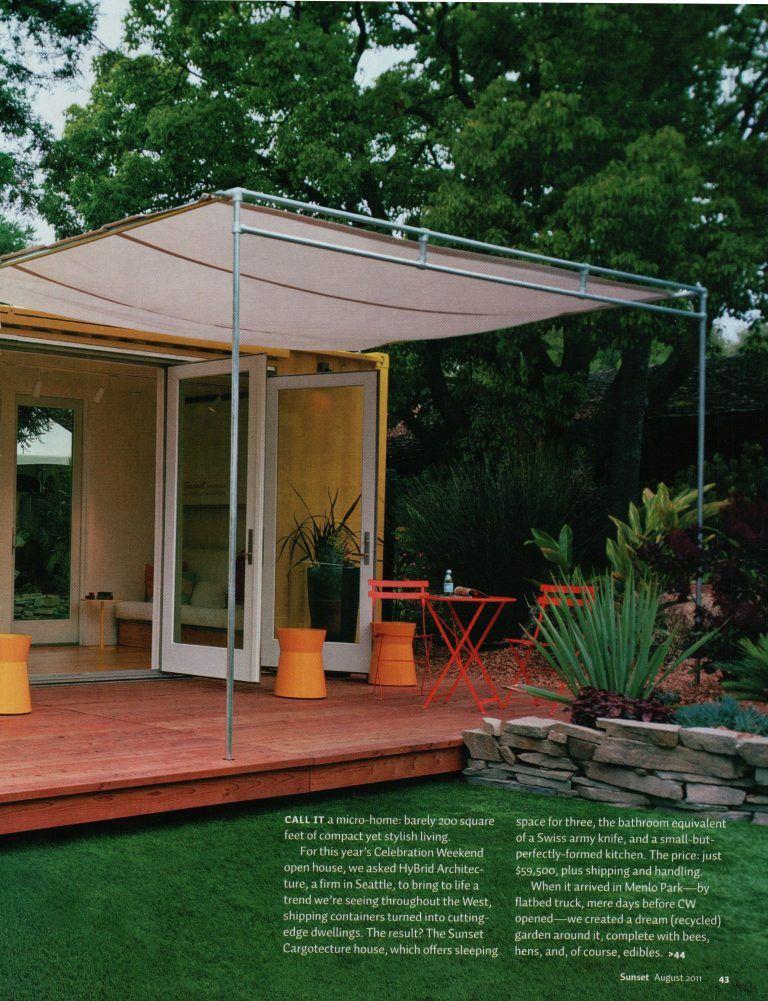 Pin On Garden Patio, Small Patio Canopy Ideas