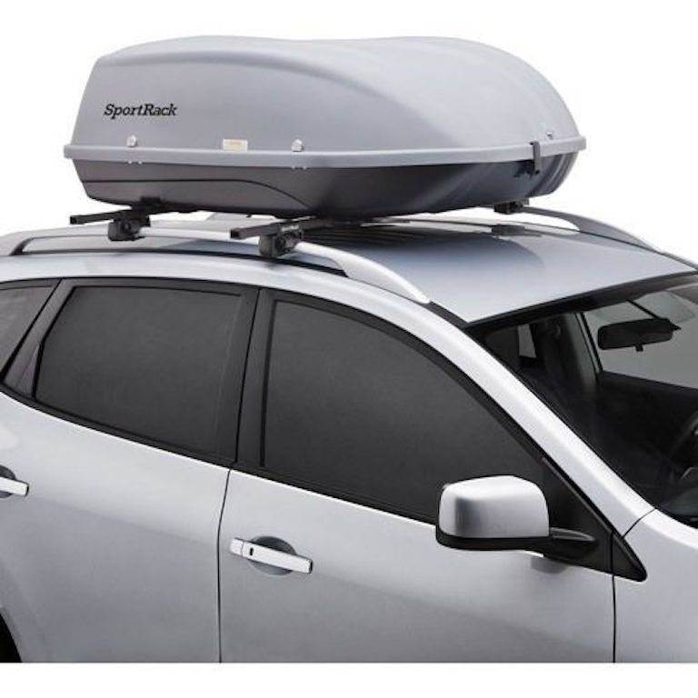 New Xl Roof Mount Cargo Box Storage Car Crossbar Auto