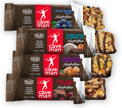 Dark Chocolate Almond Coconut Nutrition Bars Nutrition