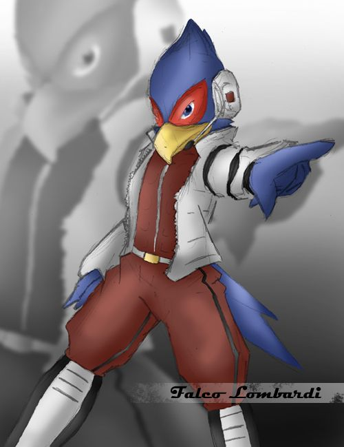 Falco Lombardi Melee Wallpaper