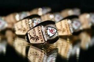 #football @Kansas City Chiefs @Kansas City Royals #sports #rings