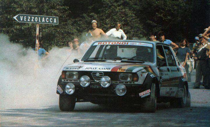 Giulietta Turbodelta rallycar