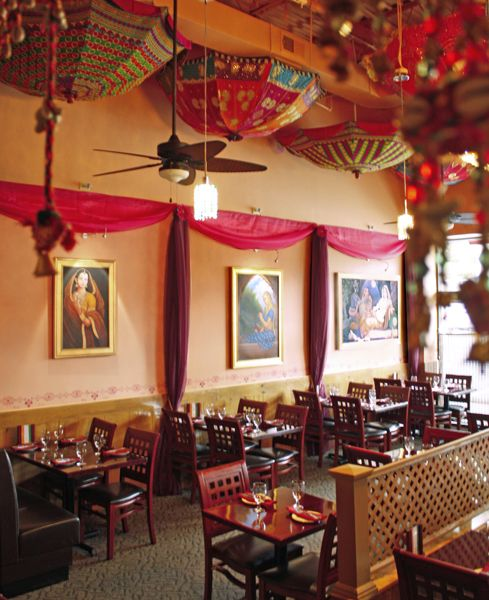 Indian restaurant decor images