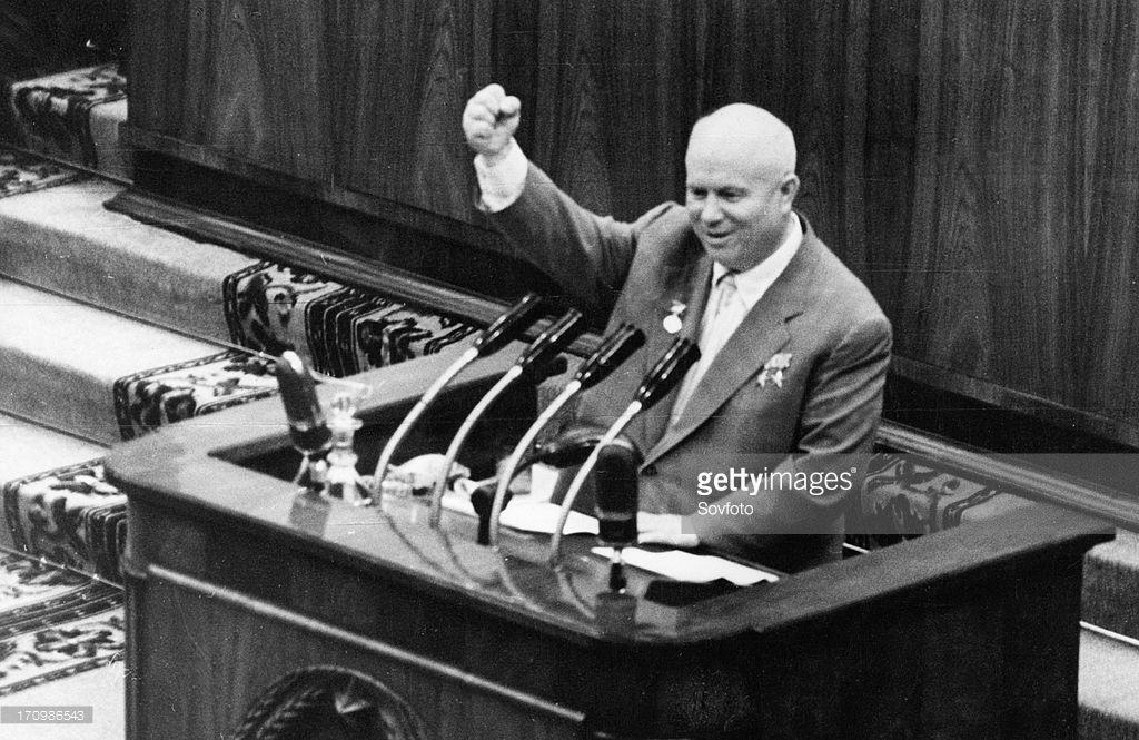Nikita khrushchev spea...