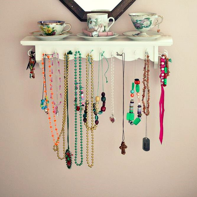 23 Best DIY Jewelry Holder Ideas to Make Your Jewelry More Tidy