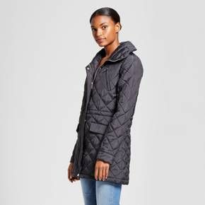 ea555f372c8 Women s 3 4 Length Quilted Jacket - A New Day™