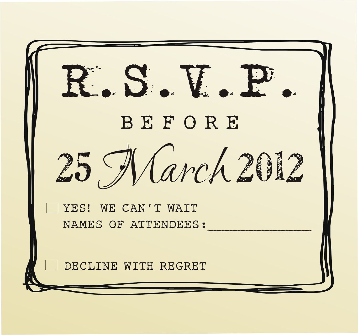 Rsvp Rubber Stamp For Custom Diy Wedding By Lovetocreatestamps 39 95 Cute Idea