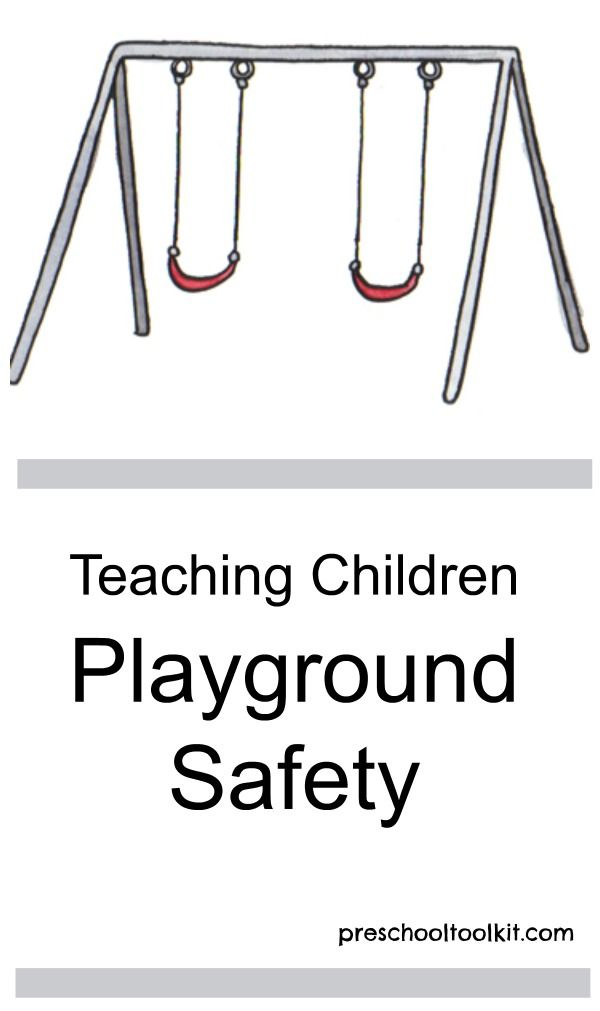 Teaching Children Playground Safety