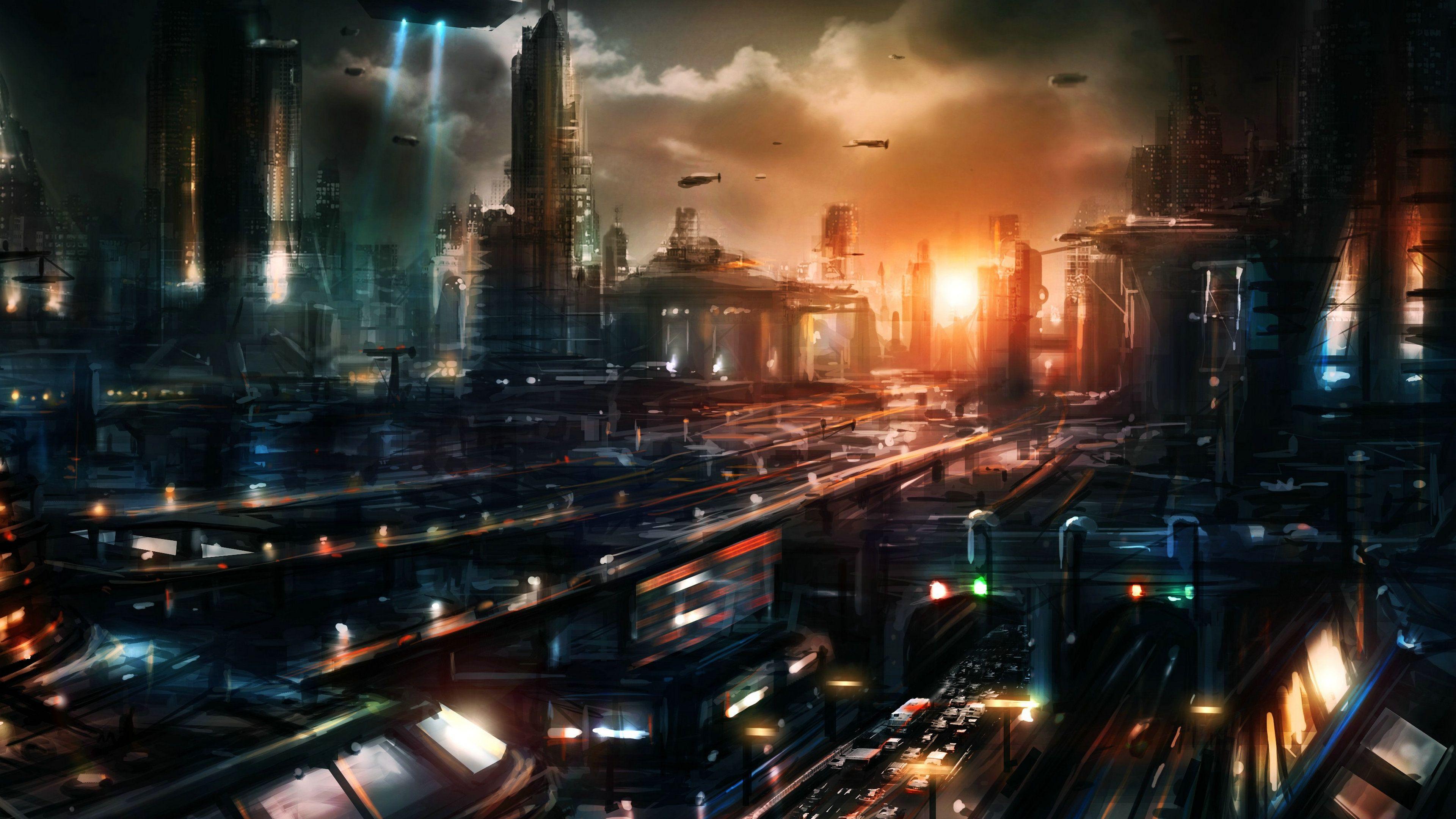 Картинки на рабочий города будущего