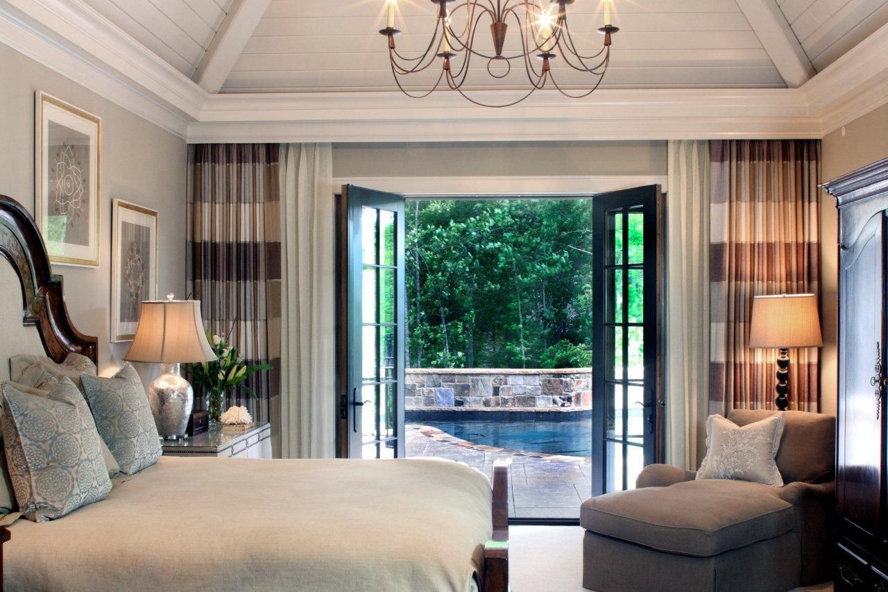 Master Bedroom Retreat With Patio Access Master Bedroom Retreat French Doors Bedroom Master Bedroom Addition