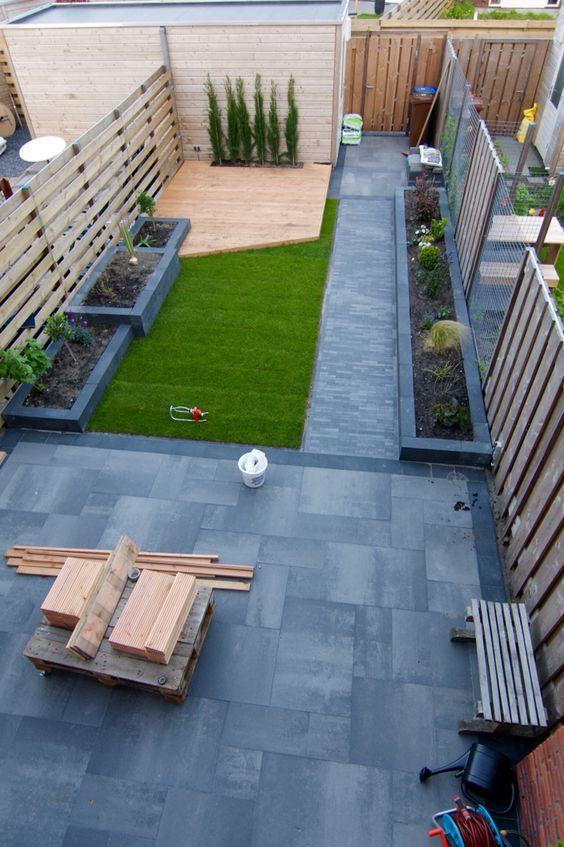 Populair Border aanleggen voorbeelden | Tuin idee - Garden Design, Backyard &SE03