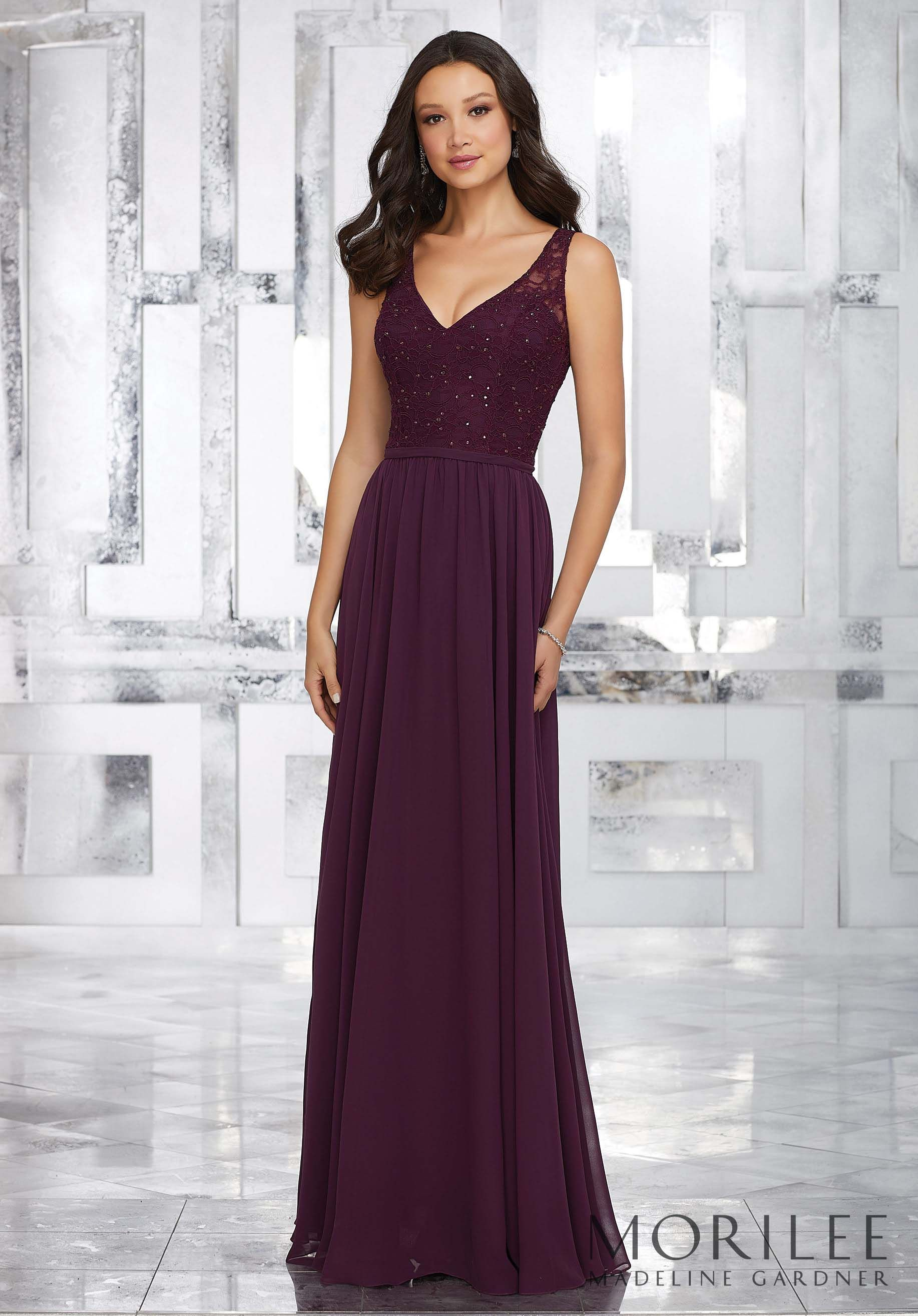 Morilee madeline gardner style 21546 chiffon a line long morilee madeline gardner style 21546 chiffon a line long bridesmaid dress with ombrellifo Choice Image