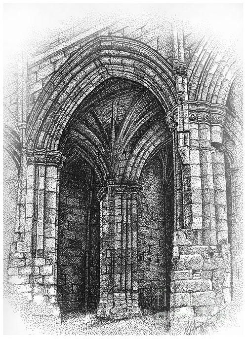 Gothic Arch Drawing