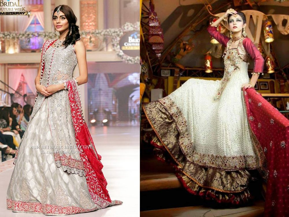 Best Bridal Walima Dresses Designs & Colors 2016-2017