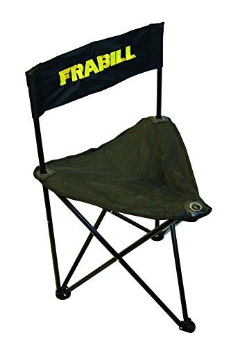 Frabill Ice Camp Chair Seat, 3 Leg Folding ** Learn More By Visiting