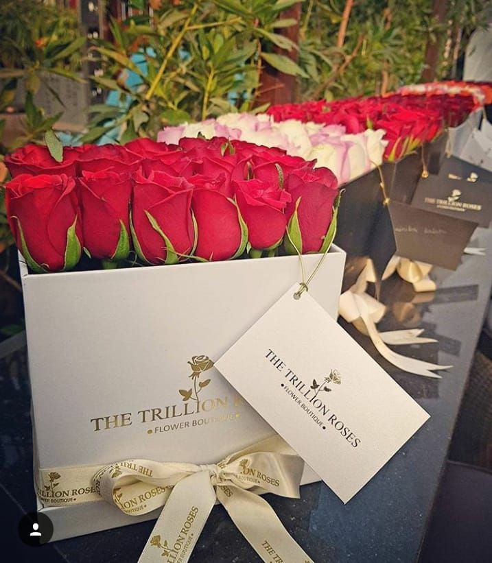 The Trillion Roses Make anyone happy with our beautiful rose domes.. A million words can be describ
