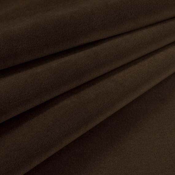 Velvet Upholstery Fabric Como 335 Brown #velvetupholsteryfabric