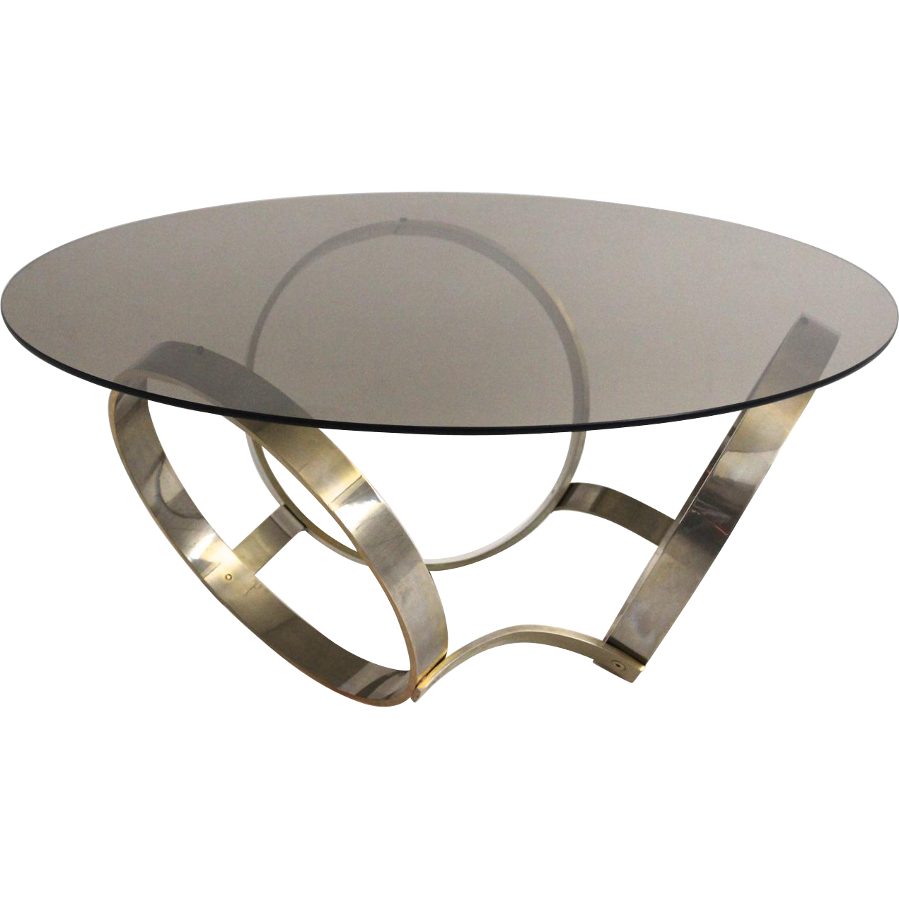 Mid Century Modern Coffee Table With Three Brassed Rings 1970s Mid Century Modern Coffee Table Modern Coffee Tables Coffee Table [ 1271 x 1271 Pixel ]