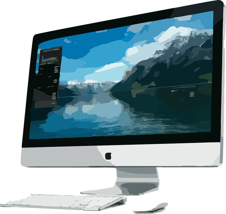 Free Image On Pixabay Computer Apple Inc Monitor Desktop Computers Apple Desktop Imac Desktop