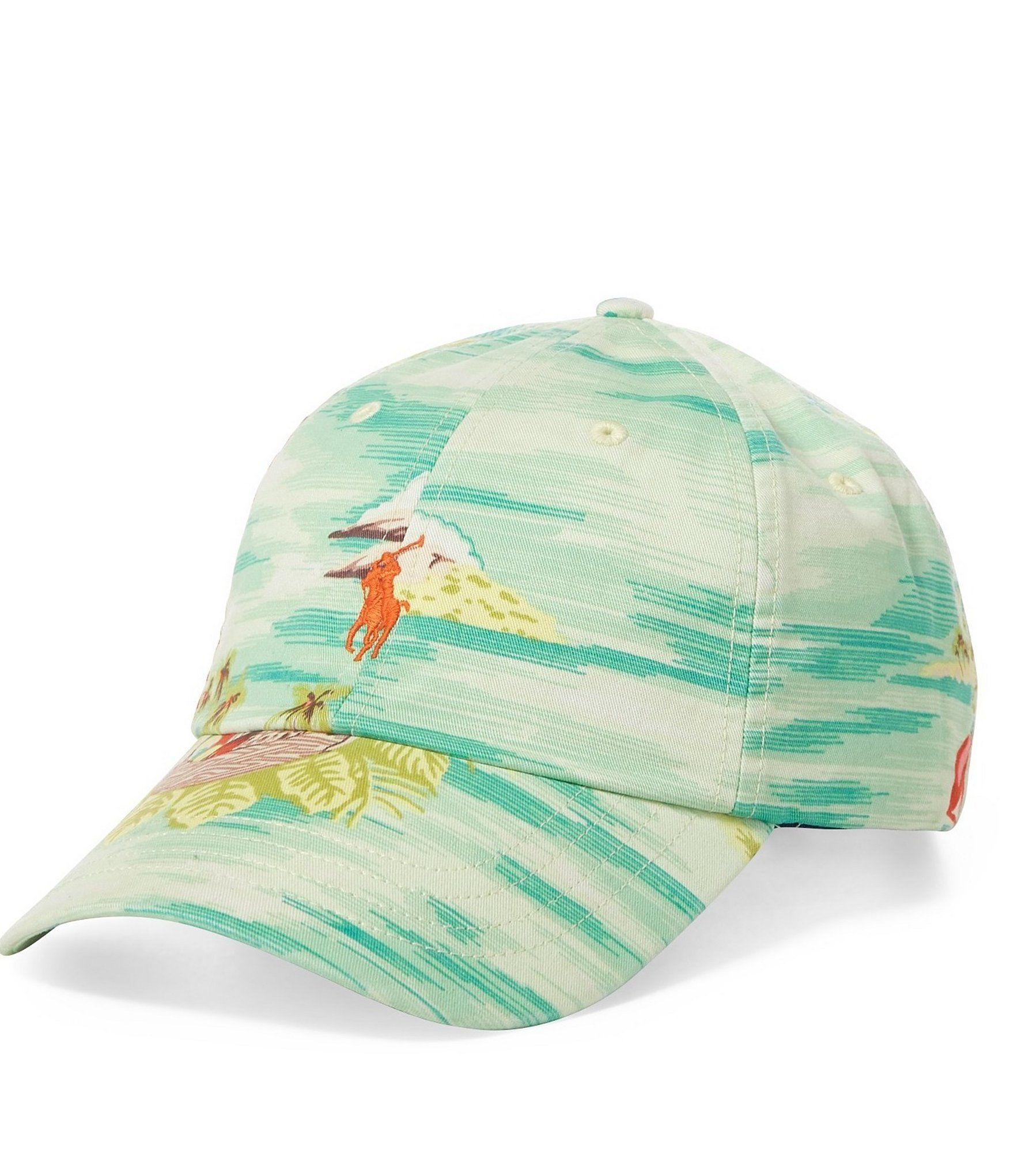 1785f63aa Shop for Polo Ralph Lauren Hawaiian Print Stretch Chino Baseball Cap at  Dillards.com. Visit Dillards.com to find clothing