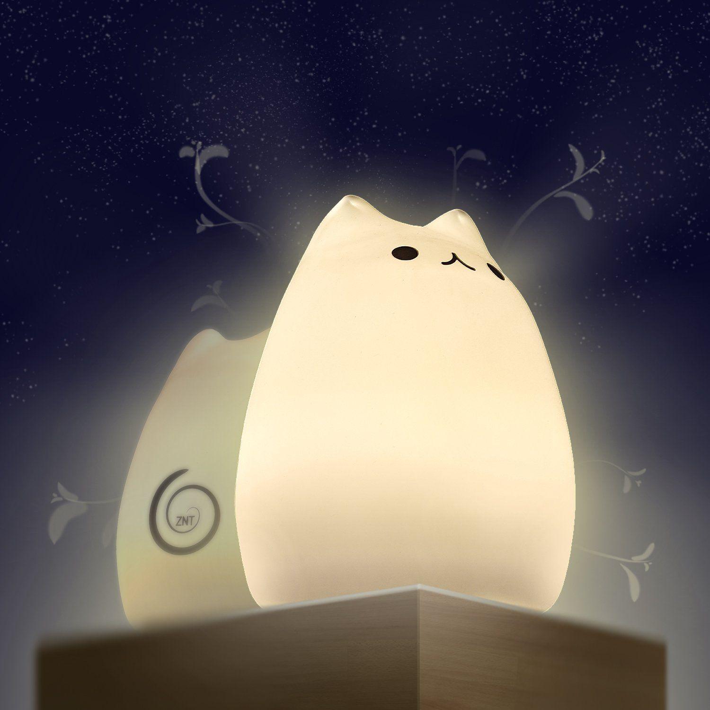 Night lights nursery - Night Lights For Kids Znt Moe Breathing Light Children S Night Light With Unique Breathing