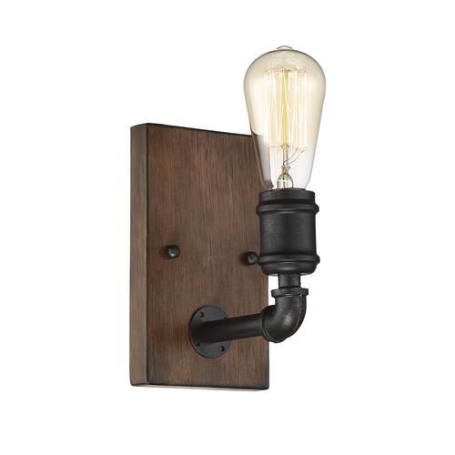 Patriot lighting elegant home 26 1 light steele wall light at menards
