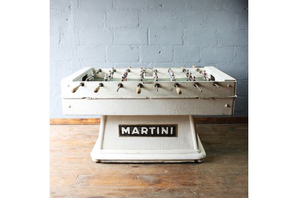 1950 S Martini Vintage Industrial Foosball Table Vintage Table