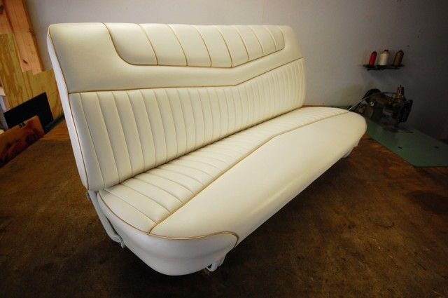 Custom ford truck bench seat binnen pinterest