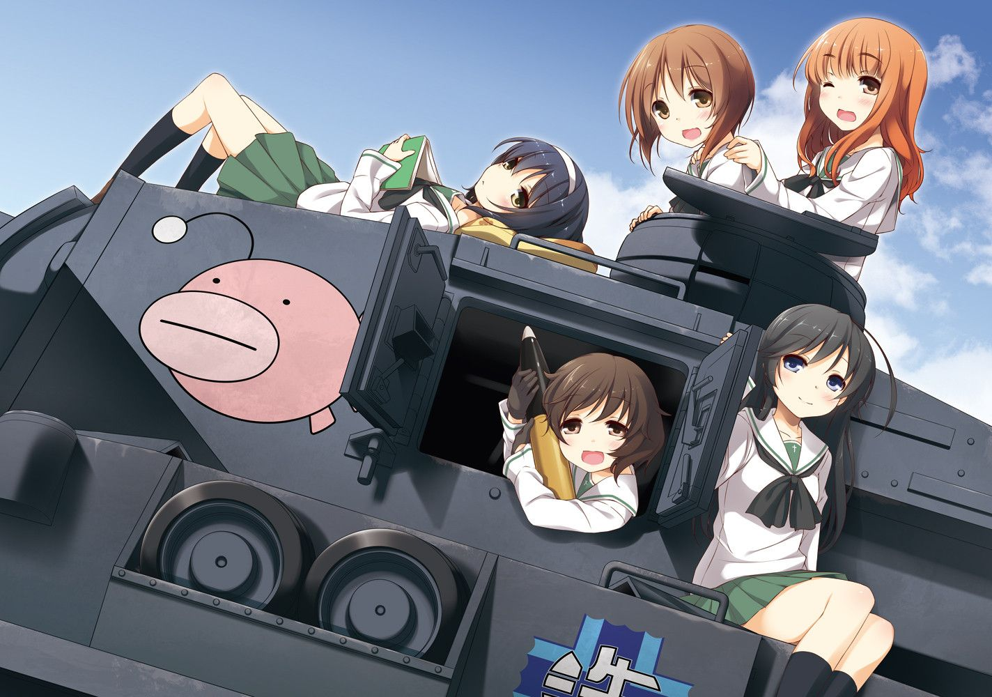 Girls Und Panzer Anime Anime Characters Anime Images