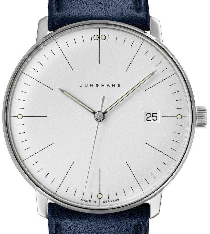 bauhaus style new junghans max bill watches watch releases design bauhaus max bill. Black Bedroom Furniture Sets. Home Design Ideas