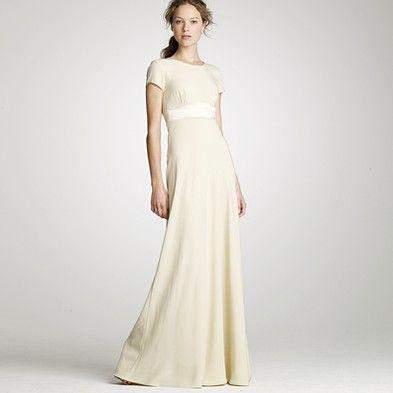 J Crew Mimi Crepe Wedding Dress Jcrew Wedding Dress Dresses Used Wedding Dresses