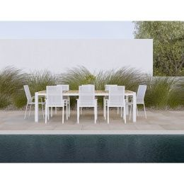 aviana outdoor dining set table 6 chairs crock pot at home