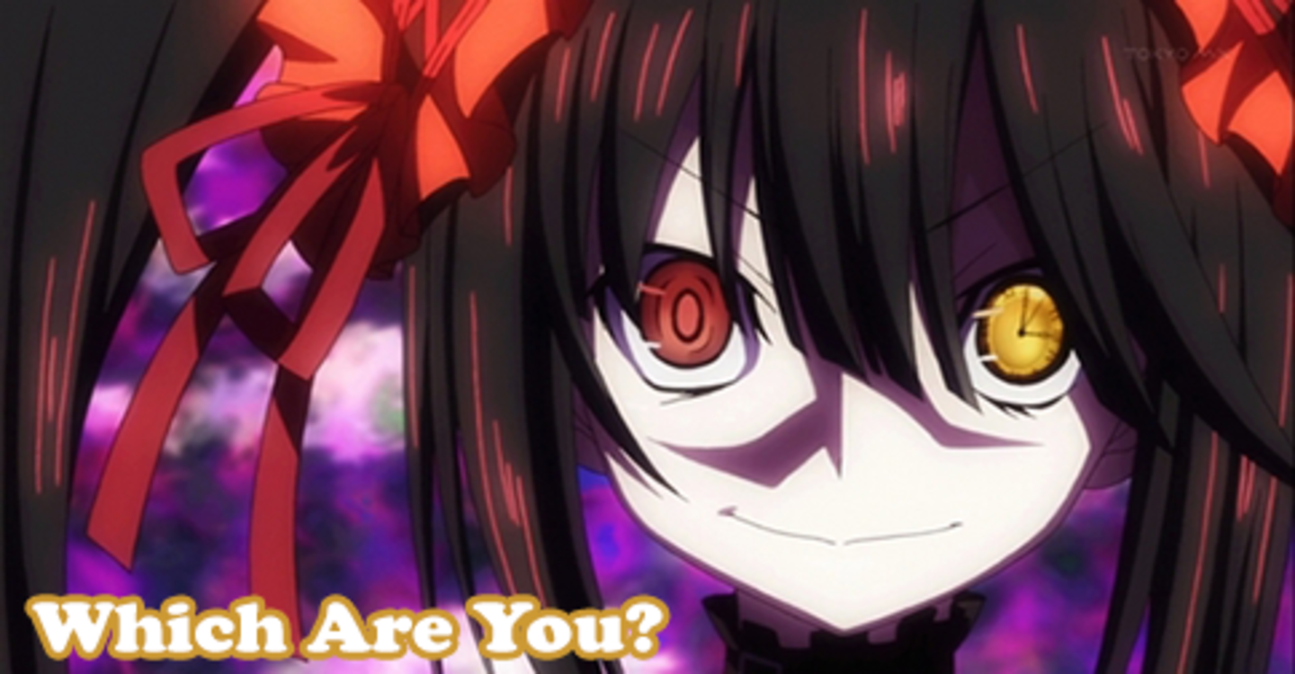 What's Your Anime Dere Type? Yandere anime, Date a live