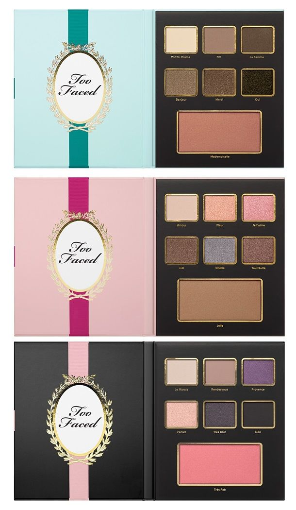 Too Faced Christmas in Paris for Holiday 2015 – Musings of a Muse