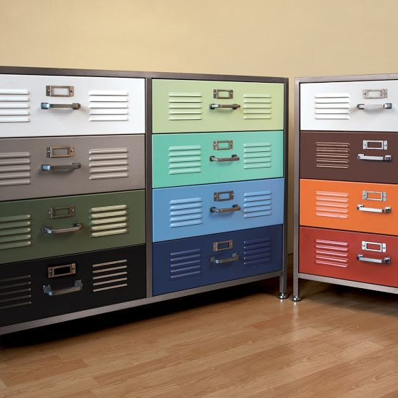 Locker Drawers PBteen Home is where your Sofa is