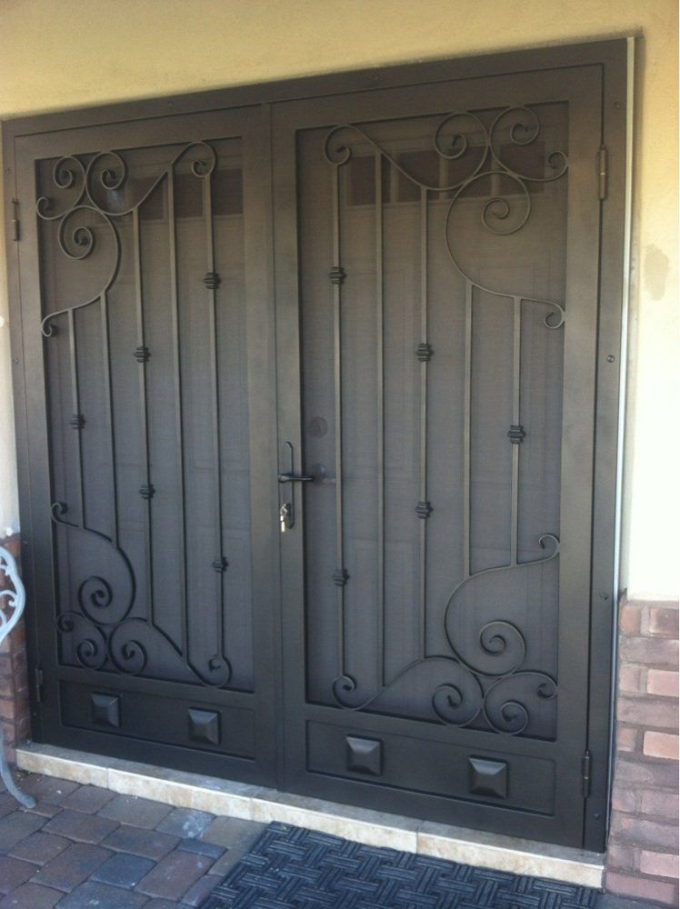 Delicieux Double Security Doors   Google Search