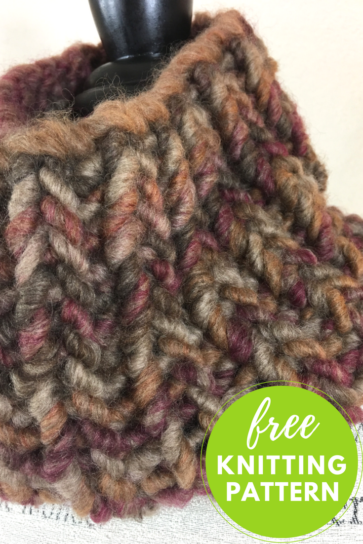 Easy Cannoli Cowl Free Knitting Pattern | Cannoli, Knit patterns and ...