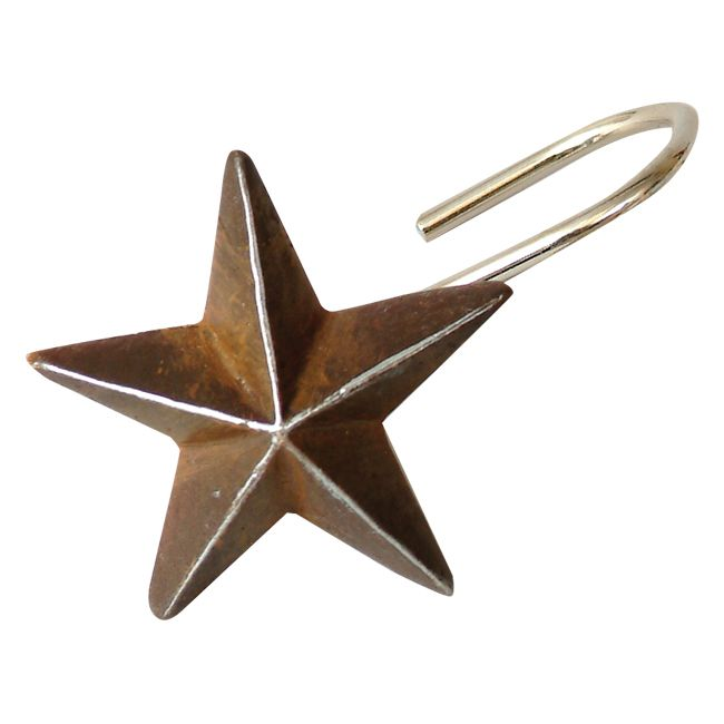 Star Shower Curtain Hooks Diy Dollar Store Shower Curtain Hooks And Epoxy On Metal Stars Bought Fro Shower Curtain Hooks Star Shower Rustic Shower Curtains